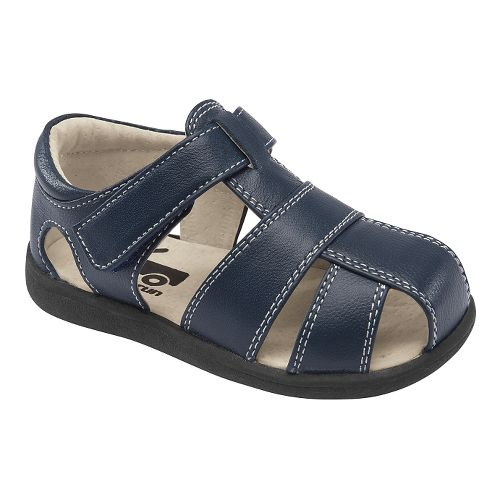 Kids See Kai Run Jude Sandals Shoe - Navy 6