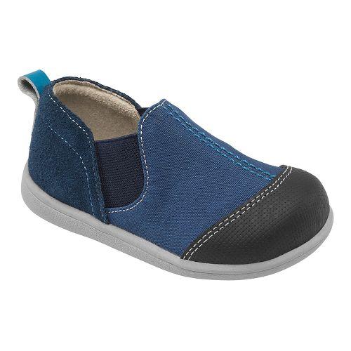 Kids See Kai Run Miles Casual Shoe - Blue 7