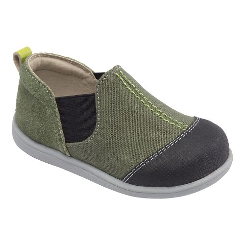 Kids See Kai Run Miles Casual Shoe - Green 7