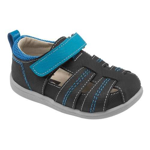 Kids See Kai Run Ryan II Sandals Shoe - Black 9
