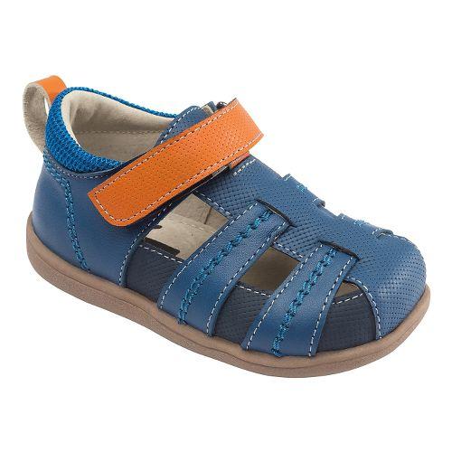Kids See Kai Run Ryan II Sandals Shoe - Blue 5