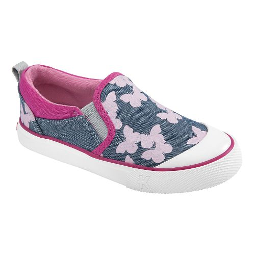 Kids See Kai Run Italya Casual Shoe - Blue 11.5