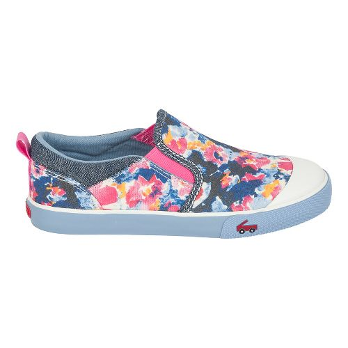 Girls See Kai Run Italya Casual Shoe - Blue Watercolor 3Y