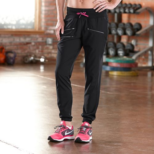 Womens Road Runner Sports Modern Day Jogger Full Length Pants - Black L