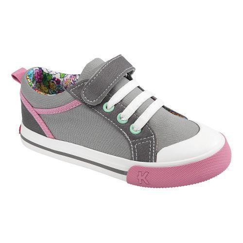 Kids See Kai Run Noel Casual Shoe - Grey 2.5