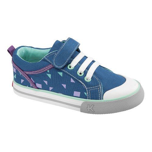 Kids See Kai Run Noel Casual Shoe - Navy 1
