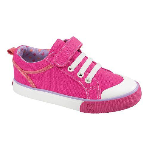 Kids See Kai Run Noel Casual Shoe - Hot Pink 2