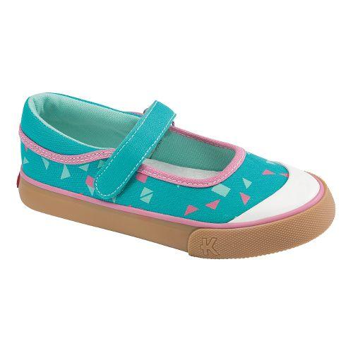 Kids See Kai Run Sandi Casual Shoe - Aqua 11