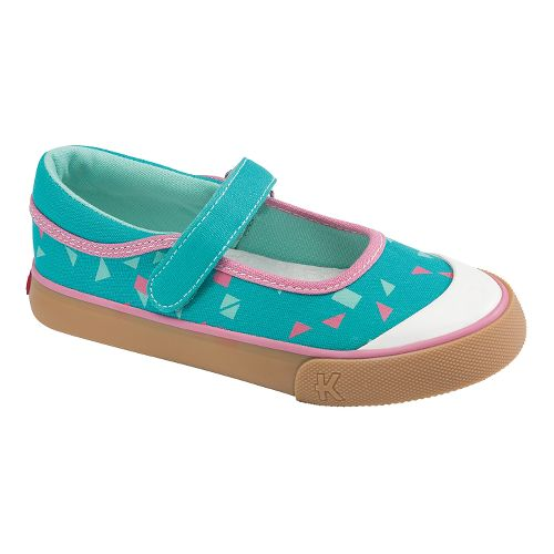 Kids See Kai Run Sandi Casual Shoe - Aqua 8