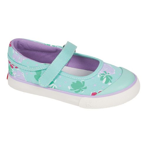Kids See Kai Run Sandi Casual Shoe - Aqua 9.5
