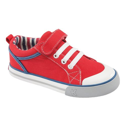 Kids See Kai Run Anders Casual Shoe - Red 9.5