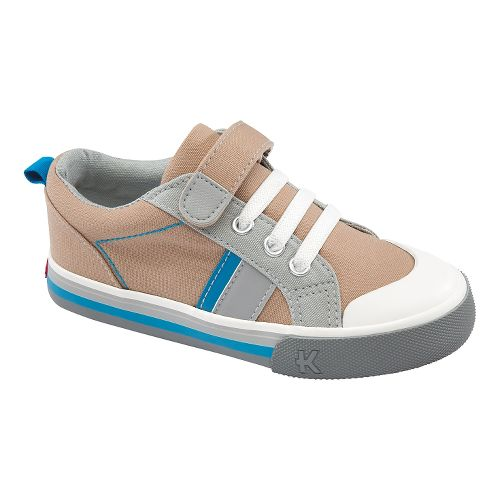 Kids See Kai Run Donovan Casual Shoe - Khaki 1