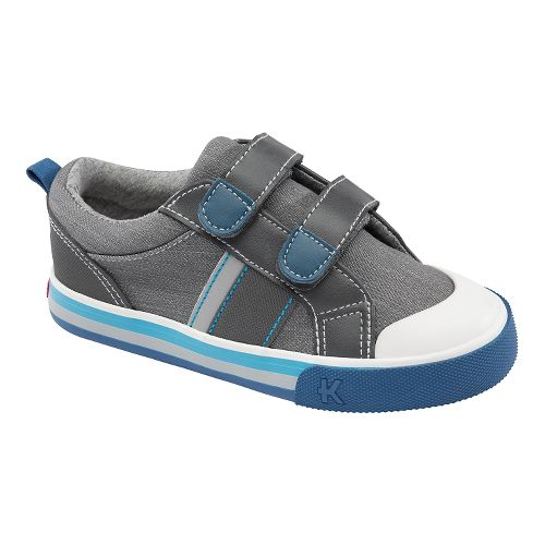 Kids See Kai Run Tripp Casual Shoe - Grey 8