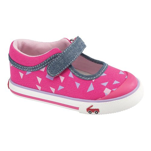 Kids See Kai Run Angela Casual Shoe - Hot Pink 4