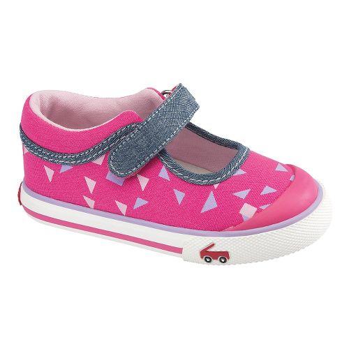Kids See Kai Run Angela Casual Shoe - Hot Pink 5