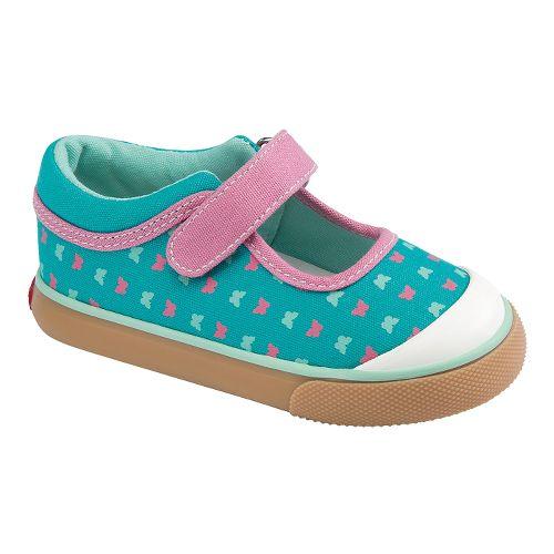 Kids See Kai Run Angela Casual Shoe - Aqua 4