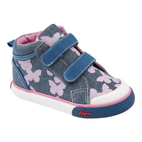 Kids See Kai Run Katie Casual Shoe - Blue 8
