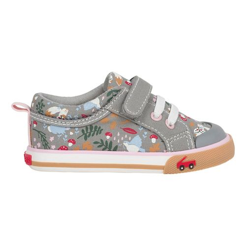 See Kai Run Girls Kristin Casual Shoe - Grey/Woodland 7.5C