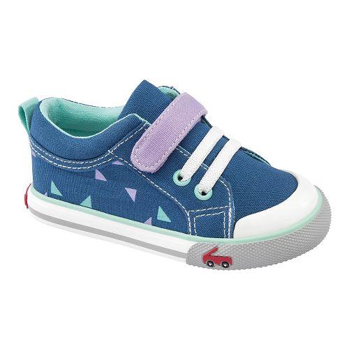 Kids See Kai Run Kristin Casual Shoe - Navy 6