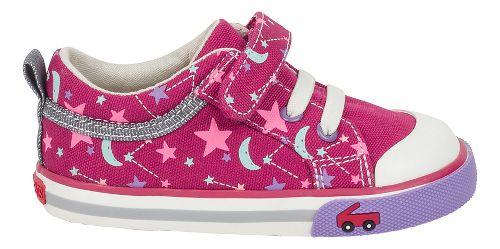 Kids See Kai Run Kristin Casual Shoe - Berry Starts 5C