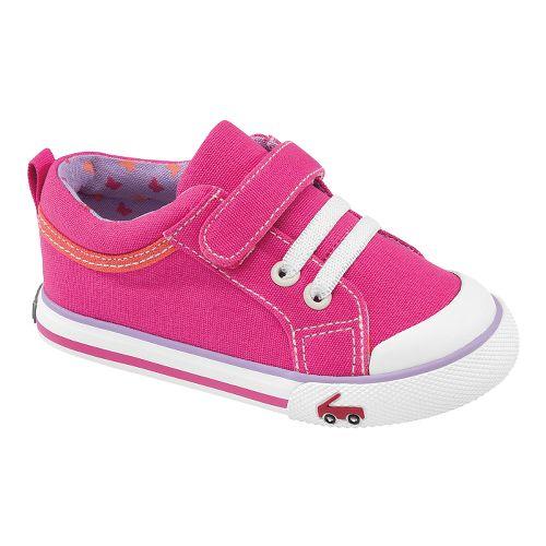 Kids See Kai Run Kristin Casual Shoe - Hot Pink 6