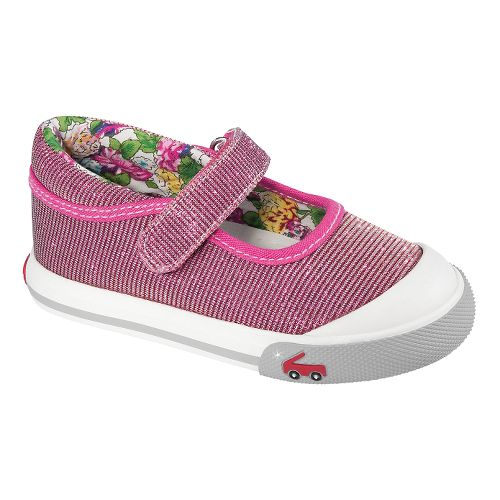 Kids See Kai Run Marie Casual Shoe - Hot Pink 6