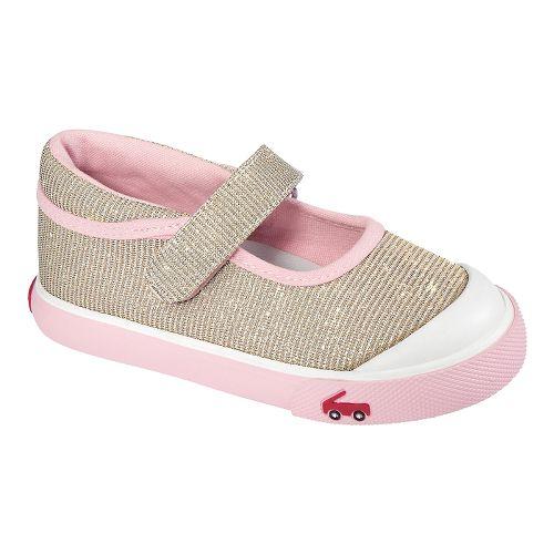 Kids See Kai Run Marie Casual Shoe - Gold 8