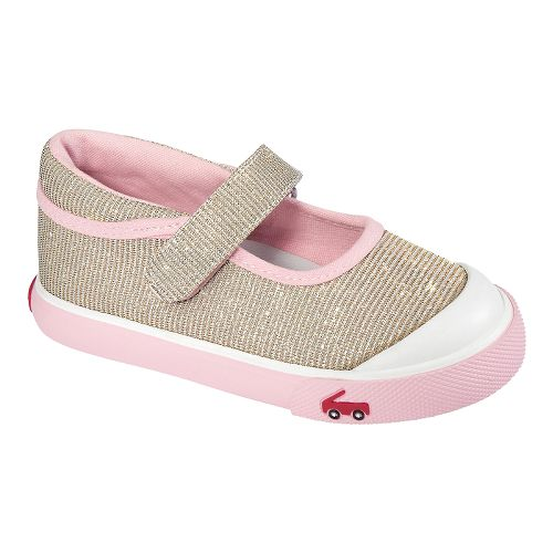 Kids See Kai Run Marie Casual Shoe - Gold 9