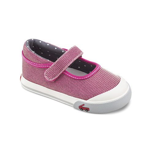 Kids See Kai Run Marie Casual Shoe - Hot Pink 5