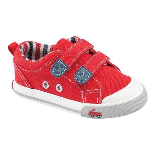 Kids See Kai Run Hess II Casual Shoe - Red 5