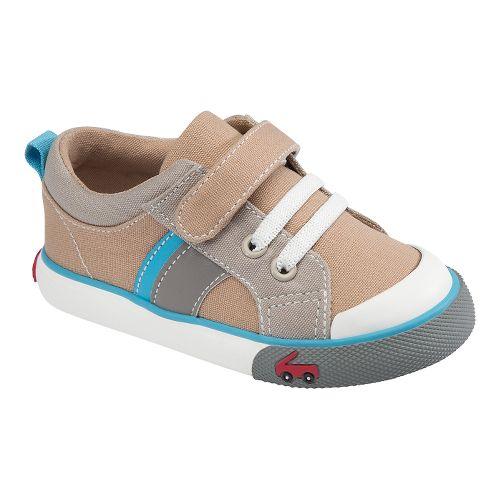 Kids See Kai Run Quinton Casual Shoe - Khaki 5