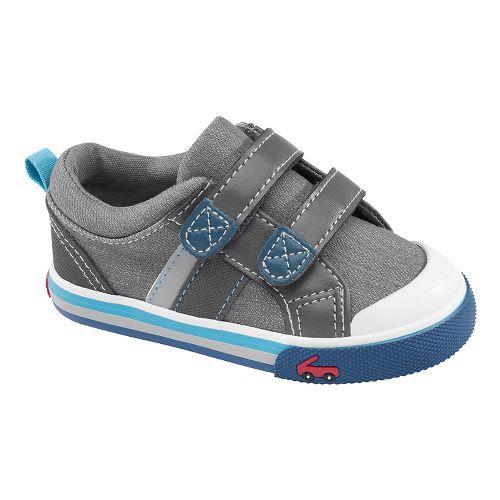 Kids See Kai Run Russell Casual Shoe - Grey 9