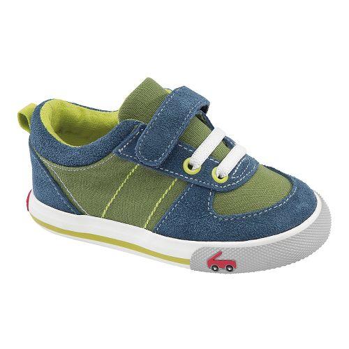 Kids See Kai Run Sava Casual Shoe - Green 5
