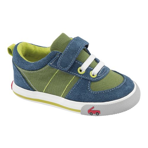 Kids See Kai Run Sava Casual Shoe - Green 8