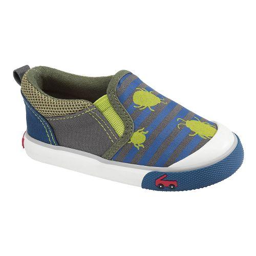 Kids See Kai Run Slater Casual Shoe - Green 4
