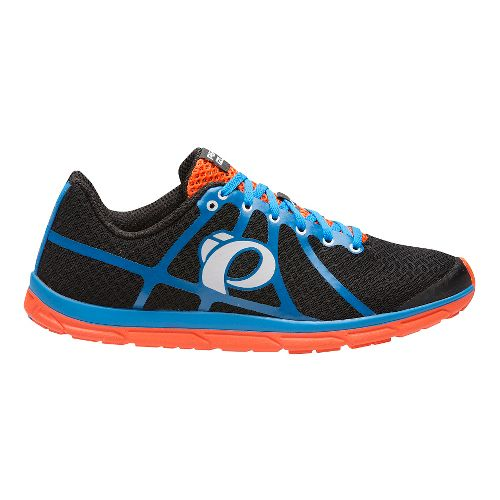 Mens Pearl Izumi EM Road N 1 V2 Running Shoe - Black/Fountain Blue 13