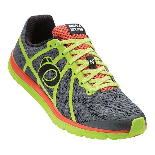 Mens Pearl Izumi EM Road N 1 V2 Running Shoe - Shadow Grey/Lime 7