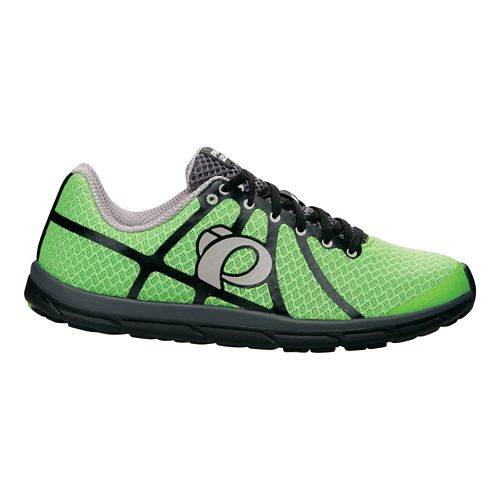 Mens Pearl Izumi EM Road N 1 v2 Running Shoe - Green Flash/Black 10.5