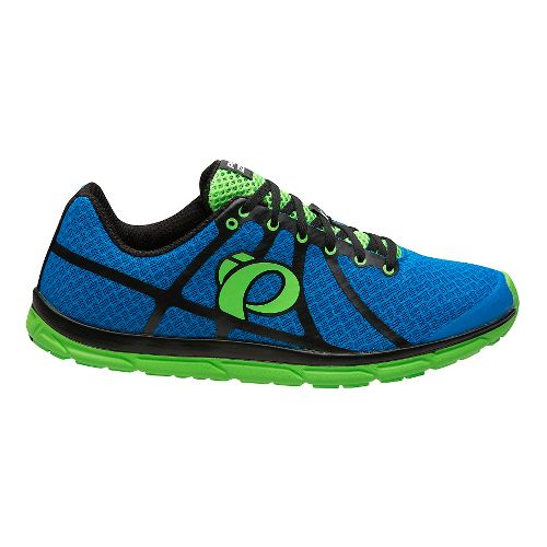 Mens Pearl Izumi EM Road N 1 V2 Running Shoe - Fountain Blue/Green 11