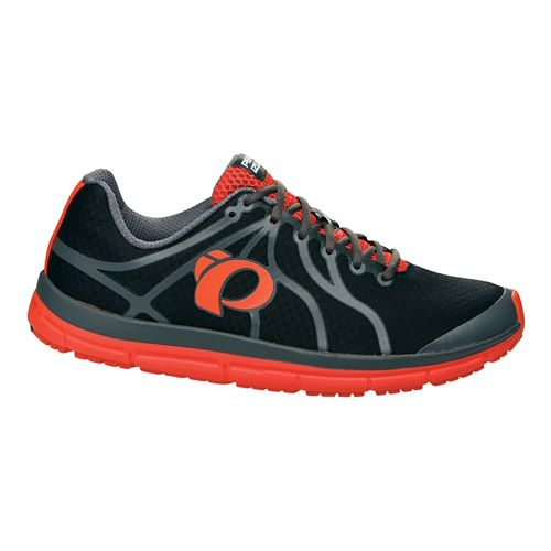 Mens Pearl Izumi EM Road N 2 v2 Running Shoe - Black/Shadow Grey 7.5