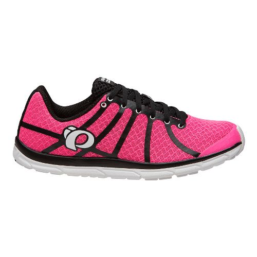 Womens Pearl Izumi EM Road N 1 V2 Running Shoe - Black Screaming Pink 9 ...