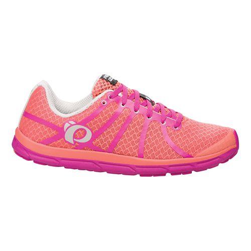 Womens Pearl Izumi EM Road N 1 v2 Running Shoe - Living Coral 5.5
