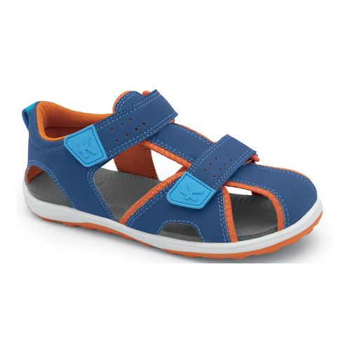 Kids See Kai Run Discovery Sandals Shoe - Blue 8