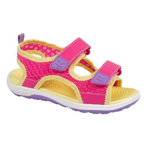 Kids See Kai Run Halifax Sandals Shoe - Hot Pink 10.5