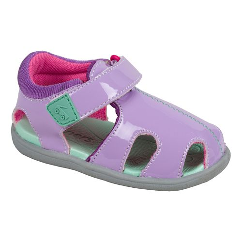 Kids See Kai Run Alki Sandals Shoe - Purple 5
