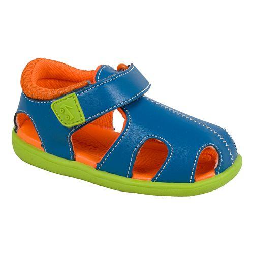 Kids See Kai Run Alki Sandals Shoe - Purple 7