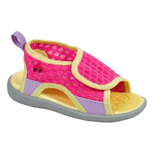 Kids See Kai Run Ueno Sandals Shoe - Hot Pink 4