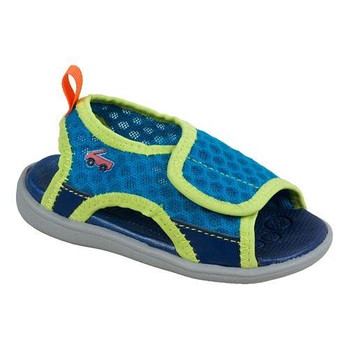 Kids See Kai Run Ueno Sandals Shoe - Blue 4