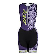 Womens Zoot Performance Tri Team Racesuit Triathlete UniSuits
