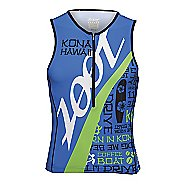 Mens Zoot Ultra Tri Ali'I Tank Sleeveless Technical Tops